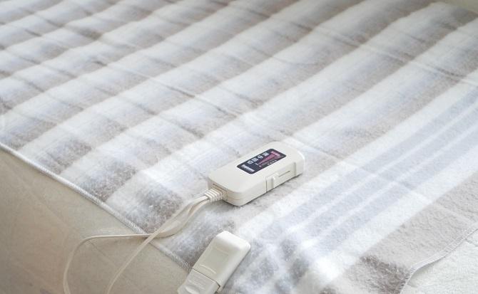 電気毛布サイズ