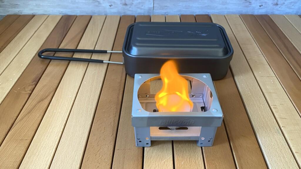 固形燃料点火