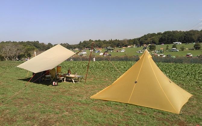 テントの構造