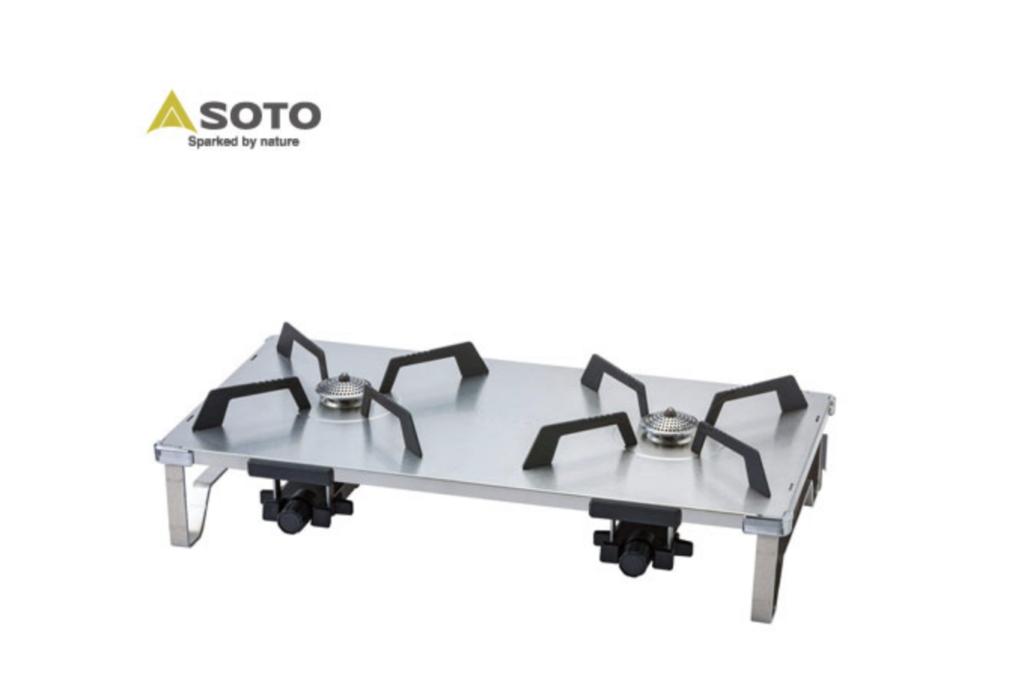 SOTO レギュレーター2バーナー GRID