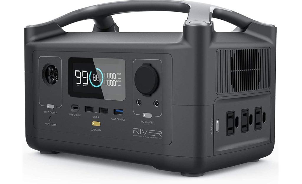 EF ECOFLOW ポータブル電源 RIVER 288Wh