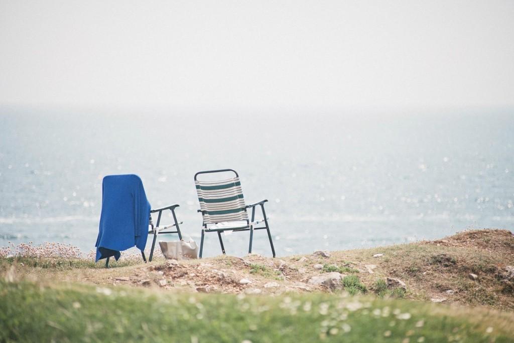 海辺のチェア