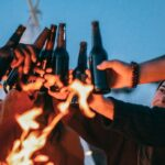 アイキャッチ画像キャンプのビール