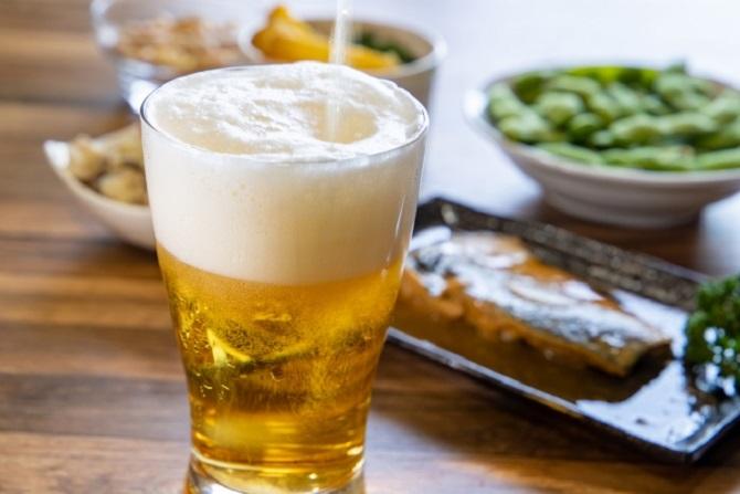 缶ビールを美味しく