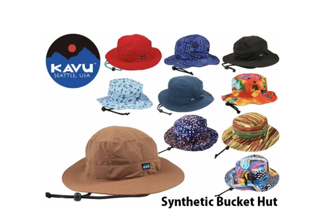 KAVU(カブー)シンセティックストラップハット