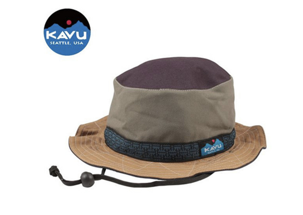 KAVU(カブー)ストラップバケットハット