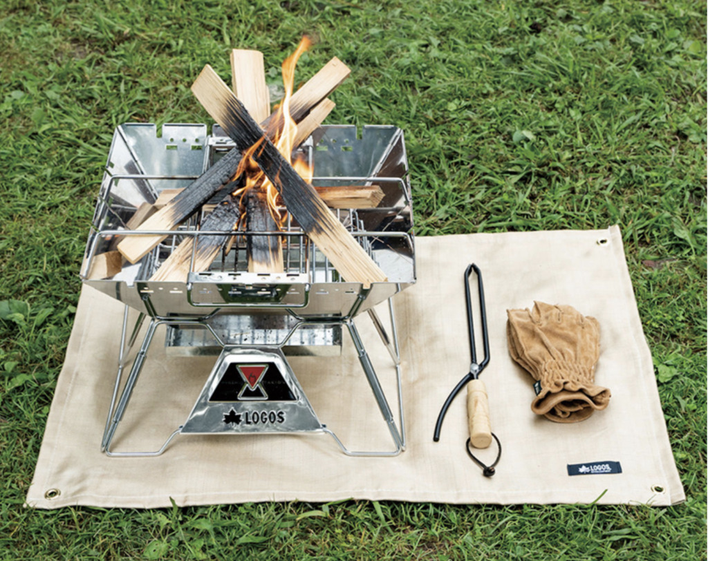 ロゴス アウトドア 焚き火 たき火台シート